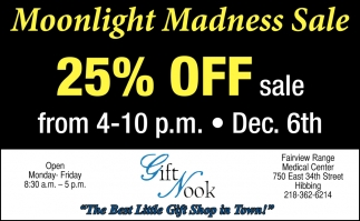Moonlight Madness Sale