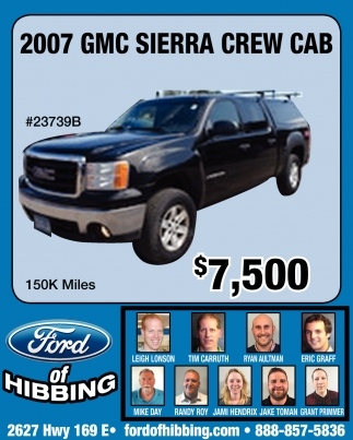 2007 GMC Sierra Crew Cab