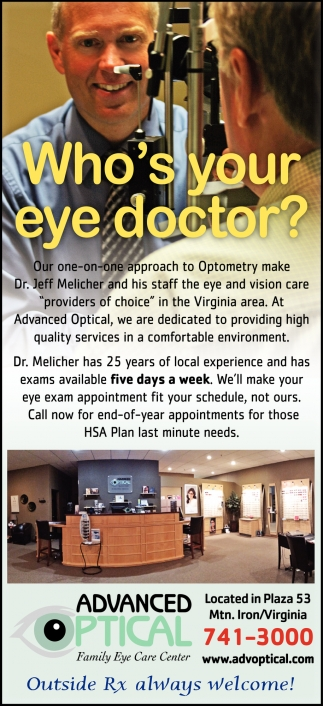 Who's Your Eye Doctor?