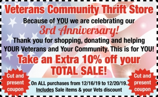 Take An Extra 10% Off Your Total Sale!