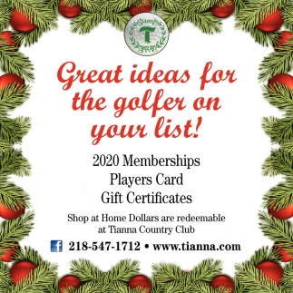 Great Ideas For The Golfer On Your List!