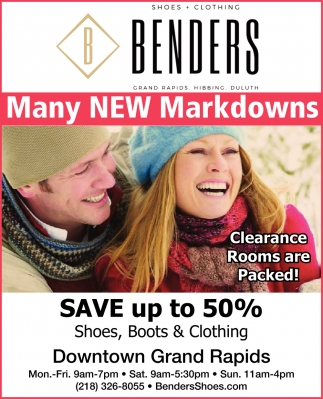 Many New Markdowns