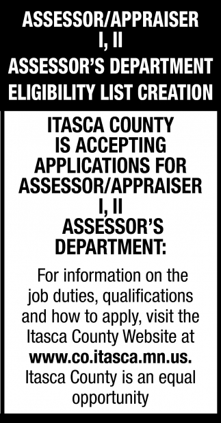 Assessor / Appraiser