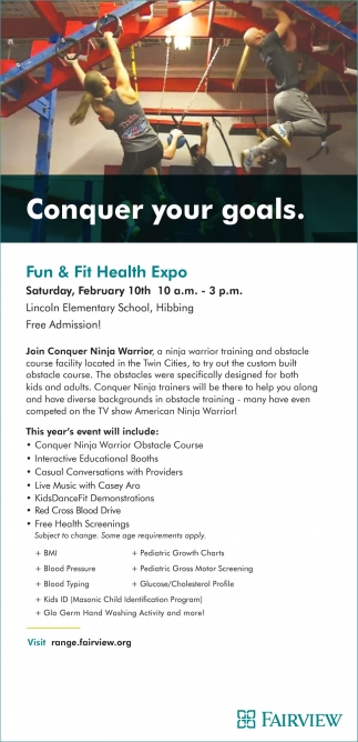 Fun & Fit Health Expo