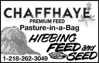 Chaffhaye Premium Feed