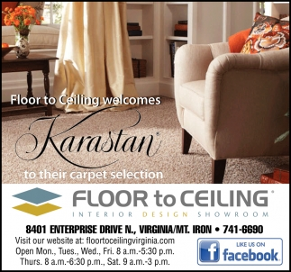 Floor To eliling Welcomes Karastan