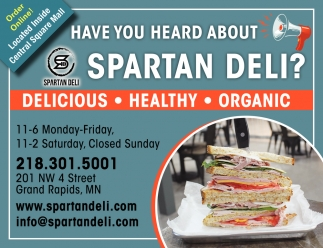 Have You Heard About Spartan Deli?