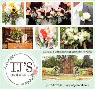 TJ's Floral & Gifts Has Moved Up The Hill In Walker