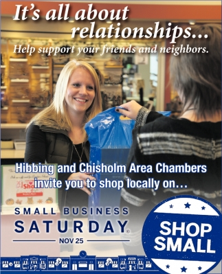 Small Business Saturday Nov. 25