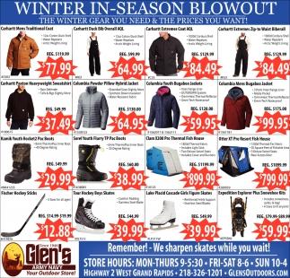 Winter In-Season Blowout