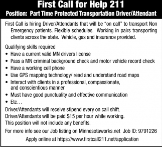 first call for help 211, first call 211, grand rapids, mn