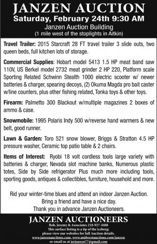 Janzen Auction