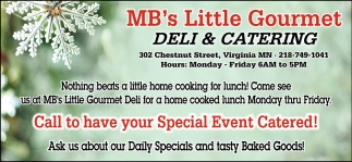 Call To Have Your Special Event Catered!