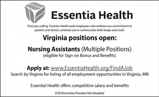 Virginia Positions Open