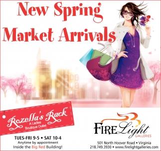 New Spring Market Arrivals