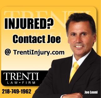 Injured? Contact Joe