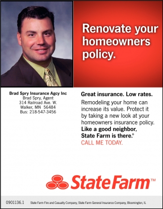 Renovate Your Homeowners Policy.