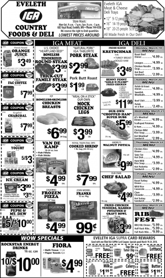 Lowest Prices Around