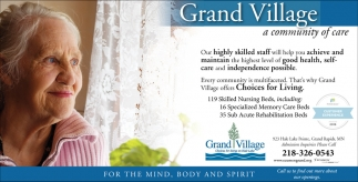 Grand  Village A Community Of Care
