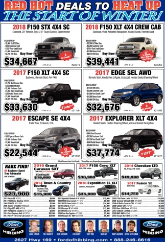 Red Hot Deals To Heat Up The Start Of Winter!