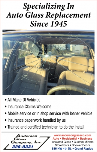 Specializing In Auto Glass Replacement Since 1945