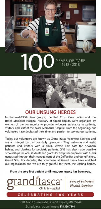 Celebrating 100 Years Of Care