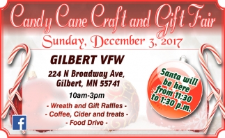 Candy Cane Craft And Gift Fair