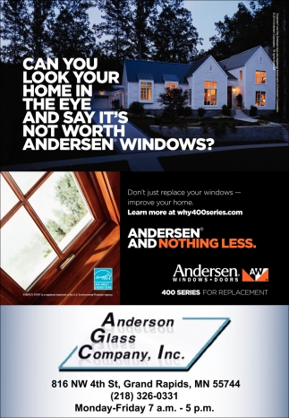 Can You Look Your Home In The Eye And Say It's Not Worth Andersen Windows?
