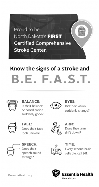 Know The Signs Of A Stroke