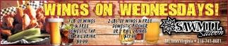 Wings On Wednesdays!