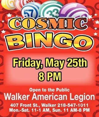 Cosmic Bingo