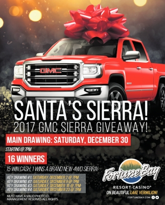 Santa's Sierra!