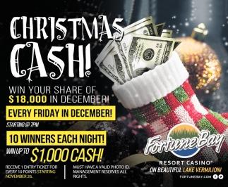 Christmas Cash!