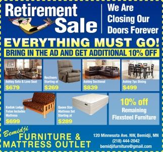 Merveilleux Retirement Sale, Bemidji Furniture U0026 Mattress Outlet