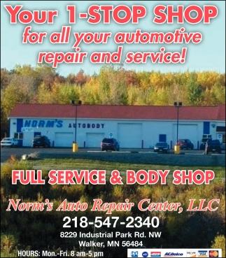 Full Service & Body Shop