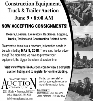 Now Accepting Consignments!