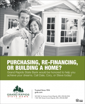 Purchasing, Re-Financing, Or Building A Home?