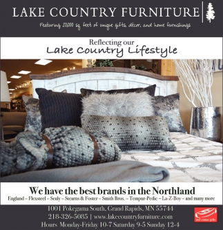 Ordinaire Reflecting Our Lake Country Lifestyle, Lake Country Furniture , Grand Rapids,  MN