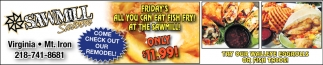 All You Can Eat Fish Fry!