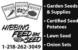 Garden Seeds & Supplies