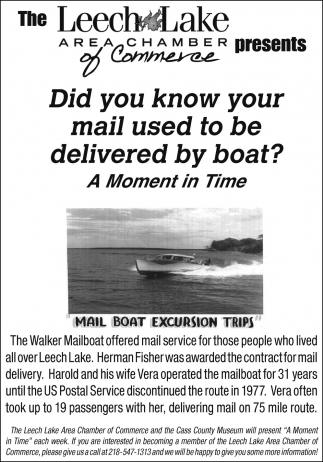 Did You Know Your Mail Used To Be Delivered By Boat?