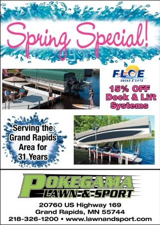 Spring Special!