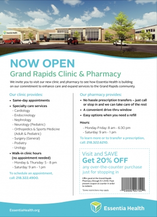 Grand Rapids Clinic & Pharmacy