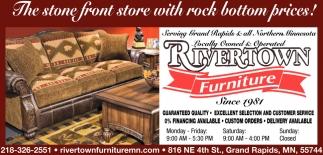 Ordinaire Since 1981, Rivertown Furniture, Grand Rapids, MN