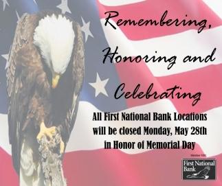 Remembering, Honoring And Celebrating