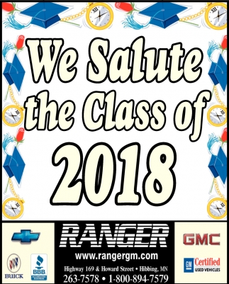 We Salute The Class Of 2018