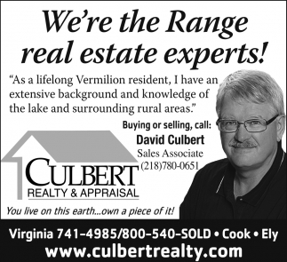 We're The Range Real Estate Experts!