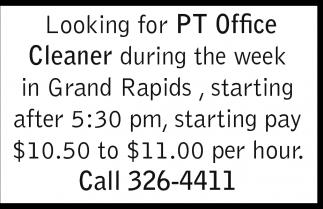 PT Office Cleaner