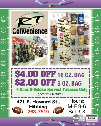 15% Off Any Non-Tobacco Product