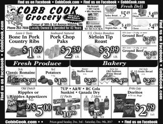 Cobb Cook Grocery